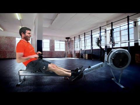 Indoor Rowing Workout Tabata x 3 (20 seconds sprint 10 seconds rest x 8