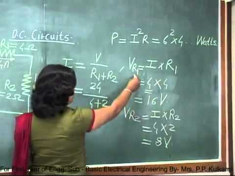 FE Engg BEE, DC Circuits Unit 2 ,Part 1 SD