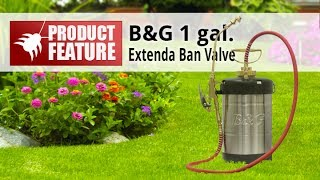 B&G Sprayer Extenda Band Valve