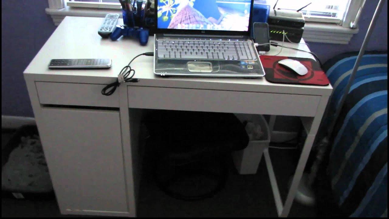 Bureau ikea micke bureau gamer pc unique ikea micke desk review