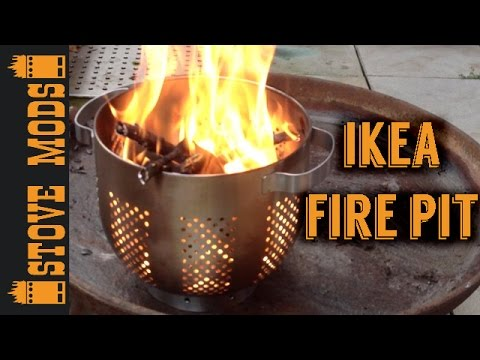 diy ikea fire pit youtube