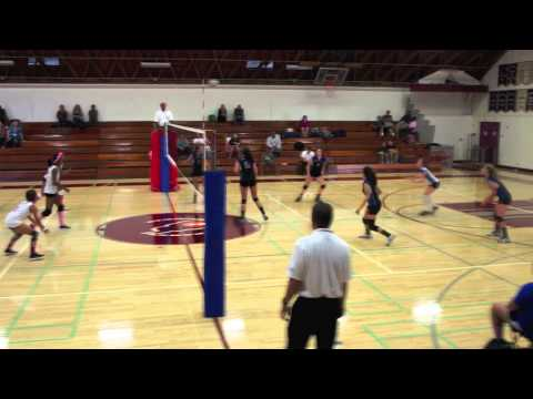 San Diego High School Women's Varsity Volleyball 2013 vs Kearny