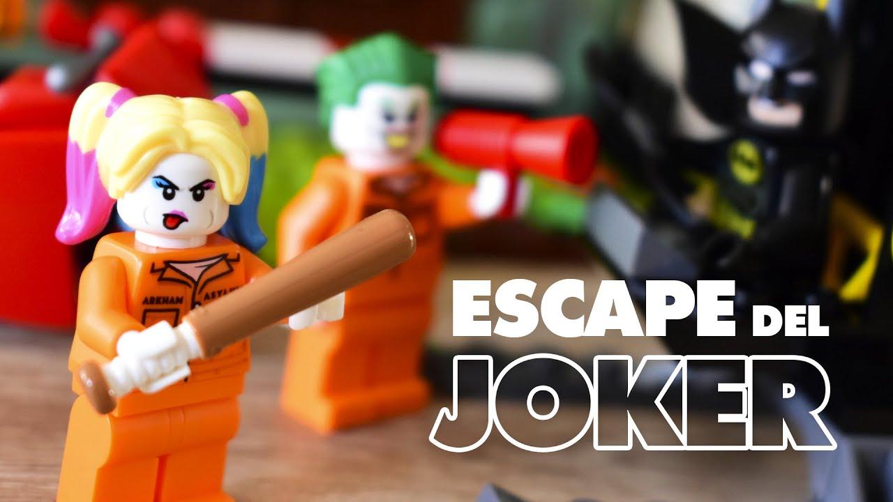 Batman y el Escape del Joker (76138) | LEGO Batman 🦇