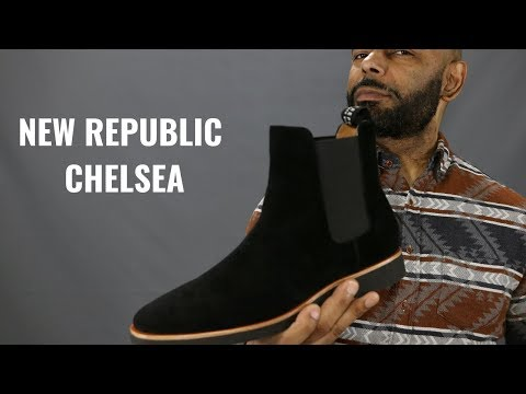 New Republic Black Suede Chelsea Boot Review