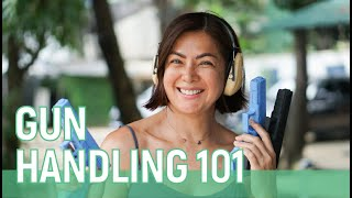 GUN HANDLING 101 with ARMSCOR MARIKINA // Alice Dixson