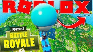 SEULEMENT 10 JOUEURS ? - ROBLOX FORTNITE BATTLE ROYALE (ISLAND ROYALE 5 WINS) #9