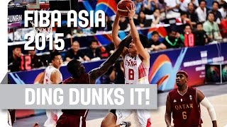 Ding Goes all the Way for the Dunk! - 2015 FIBA Asia Championship