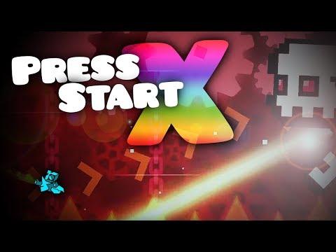"PRUEBO EL NUEVO ""PRESS START X""!! | Geometry Dash 2.2 Layout"