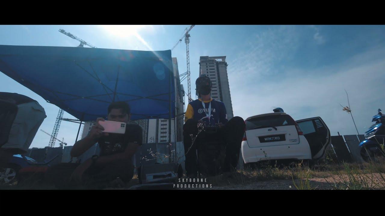 FPV Drone Kejar Kapal Terbang & CRASH! — Mid Air Collision фотки