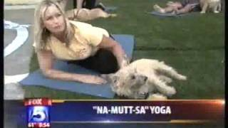 Doga Yoga On Fox 5, San Diego