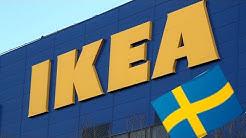 IKEA SWEDEN/ROADTRIP TO IKEA WAREHOUSE/SWEDISH FOUNDER