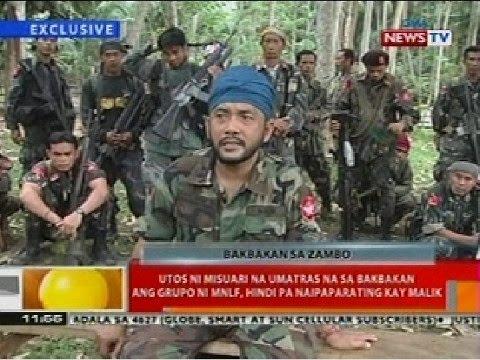 Utos ni Misuari na umatras sa bakbakan ang MNLF sa Zamboanga, hindi na naipaparating kay Malik