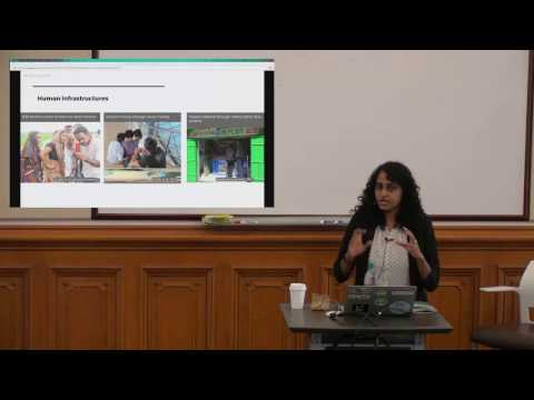 Human Systems as Design Tools in Resource-constrained Environments (Nithya Sambasivan)