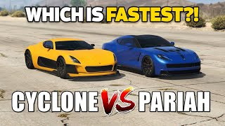 GTA 5 ONLINE - PARIAH VS CYCLONE (WHICH IS FASTEST?)