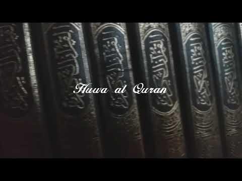 Maher Zain Huwa Al Quran 2019 Arabic (no music)