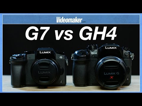 Panasonic Lumix G7 vs GH4 - Heads up and Hands on