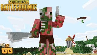 PLAYER UNKNOWNS BATTLEGROUNDS IN MINECRAFT! (PUBG)