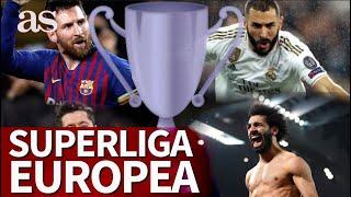 La 'Liga' de la élite de Europa que eliminaría a la Champions: ¿de qué se trata y quién la jugaría?