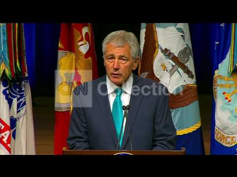 PENTAGON GAY PRIDE EVENT:HAGEL- VERY PROUD