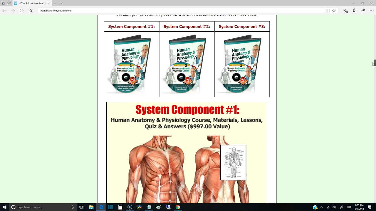 Human Anatomy and Physiology Crash Course - Master Human Anatomy in ...