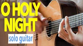O Holy Night - Cantique de Noël - Minuit Chrétiens - Acoustic Fingerstyle Guitar - Charlie Kager