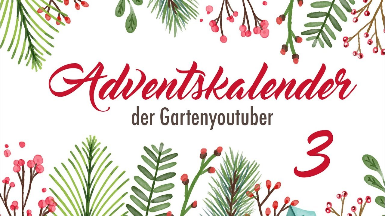 3 adventskalender der garten youtuber 2017 freiheit f r den weihnachskarpfen youtube. Black Bedroom Furniture Sets. Home Design Ideas