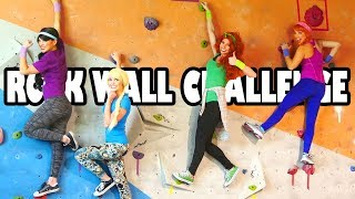 Princess Rock Wall Challenge (Who is the Best Climber) Totally TV
