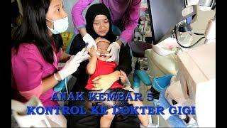 Anak Kembar 5 AIEUO periksa ke dokter gigi