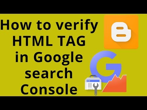 How To Verify Blog | Verify Your Website On Webmaster Tools Using HTML File