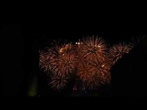 Feu d'artifice du quatorze juillet - Paris 2016