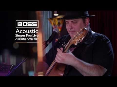 BOSS Acoustic Singer Amplifier feat. Lloyd Spiegel