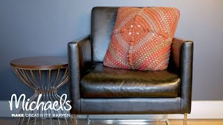 Make a Pillow with a Granny Square | Michaels