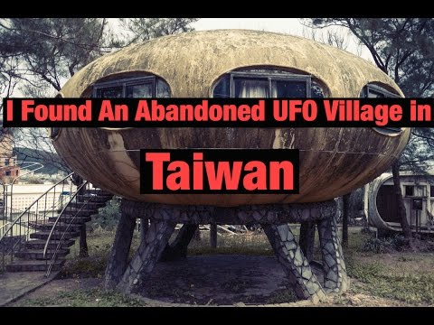 I Found An Abandoned UFO Village in Taiwan (HD Version)