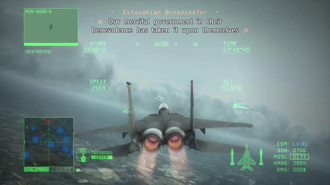 Ace Combat 6   Mission 2   Vitoze Aerial Defense