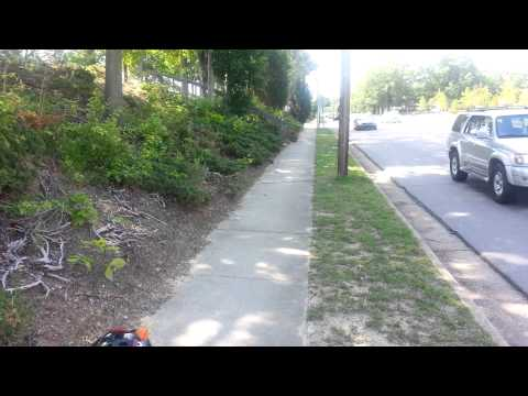 Exander flying kite:biking to the mall part 2 cont