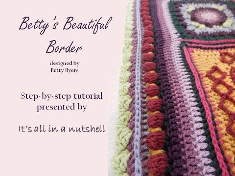 Betty's Beautiful Border for Sophie's Universe CAL part 20
