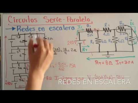 Circuito Seri E Paralelo : Circuitos serie paralelo redes en escalera análisis de