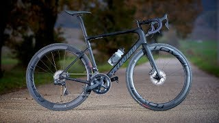 Gambar cover Test Specialized Tarmac Disc Pro