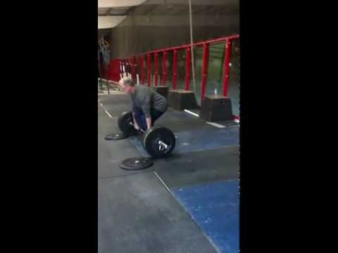 Don McCauley 100kg Deadlift x11