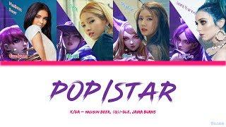 1 Hour ✗ K/DA - POP/STARS (ft Madison Beer, (G)I-DLE, Jaira Burns) [8D Use Headphone]