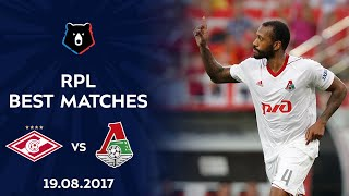 Фото RPL Best Games | Spartak Vs Lokomotiv, 19.08.2017