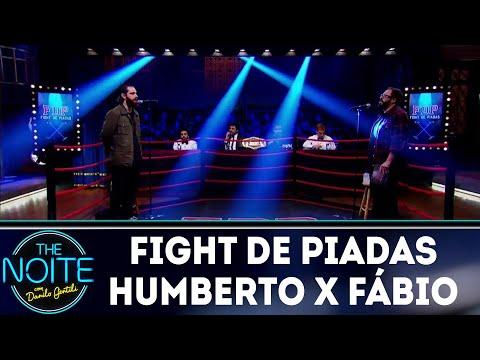 Fight de Piadas: Humberto Rosso x Fabio Güeré - Ep.22 | The Noite (24/08/18)