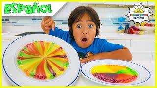 Skittles Science Experiments para que los niños hagan en casa