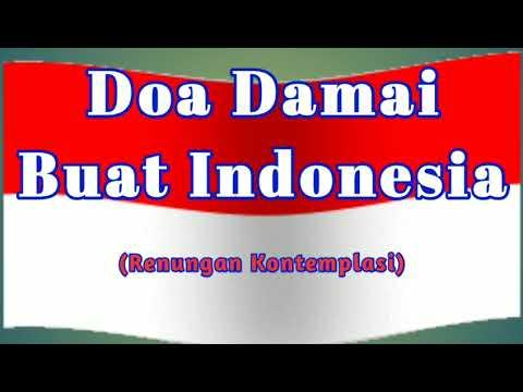 Doa Damai Buat Indonesia#Kontemplasi