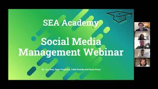Social Media Management in the Workplace Webinar