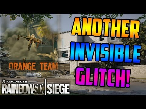 INSANE (NEW) INVISIBLE GLITCH IS BACK! *EVERY OPERATOR* - Rainbow Six Siege *PATCHED*