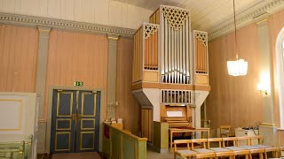 Dietrich Buxtehude. Komm heiliger Geist, Herre Gott. BuxWV 199 från Gideå Kyrka.