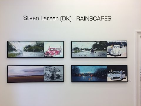 Rainscapes - Solo Art Exhibition at Galleri V58 - By Steen Larsen