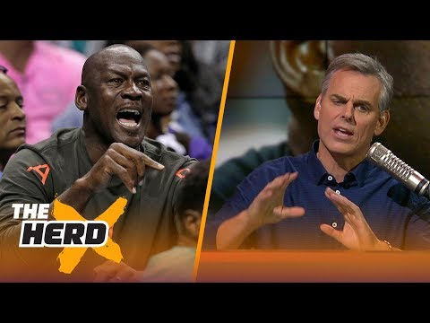 Colin Cowherd compares the Michael Jordan era of the NBA to today   THE HERD