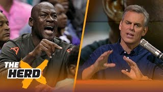 Colin Cowherd compares the Michael Jordan era of the NBA to today | THE HERD